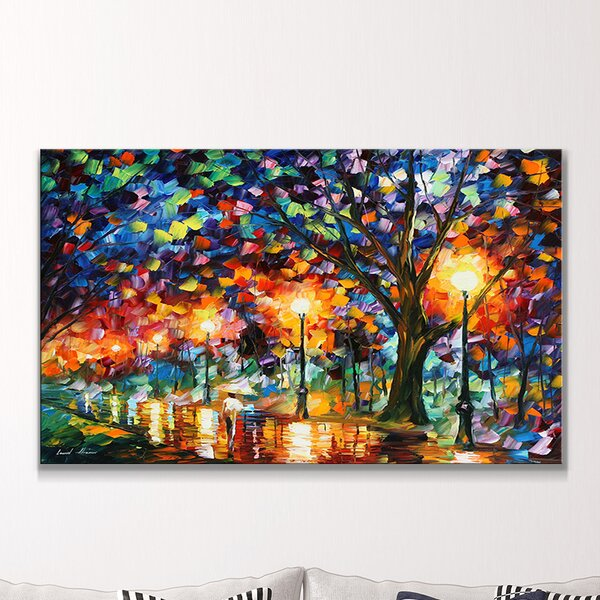 Eternity by Leonid Afremov Painting Print on Wrapped Canvas by Picture Perfect International