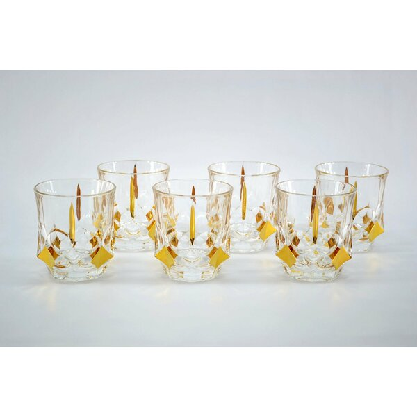 Double Old-Fashioned Glass (Set of 6) by Three Star Im/Ex Inc.
