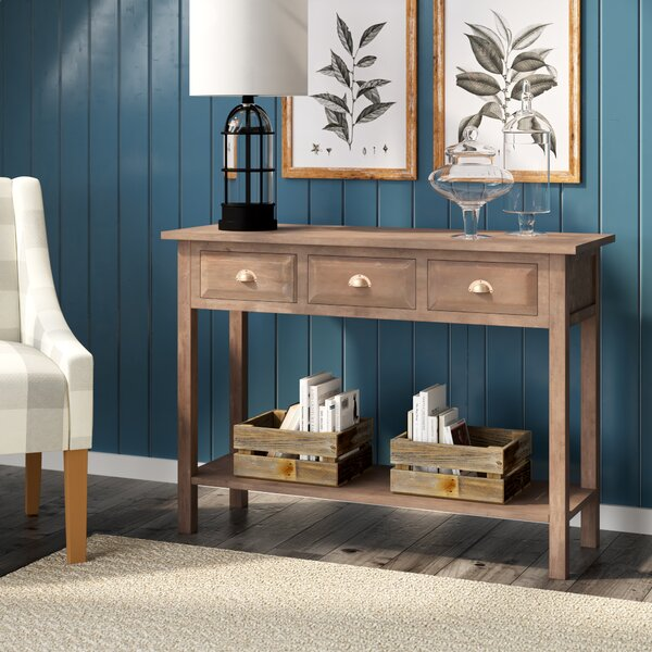 Evansville Console Table by August Grove