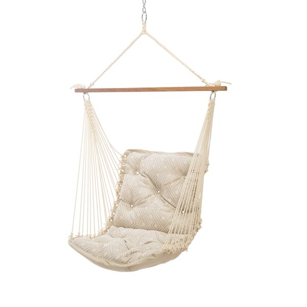 Wilcoxen Tufted Single Sunbrella Chair Hammock by Bungalow Rose Bungalow Rose