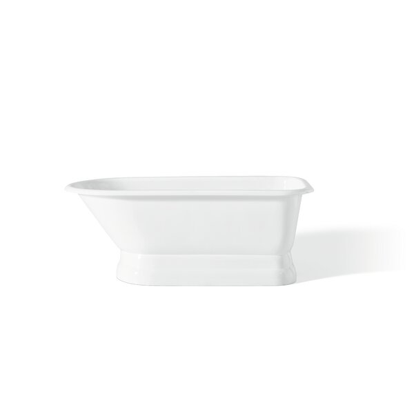 61 x 30 Soaking Bathtub with 3.38 Faucet Holes in Tub Wall by Cheviot Products