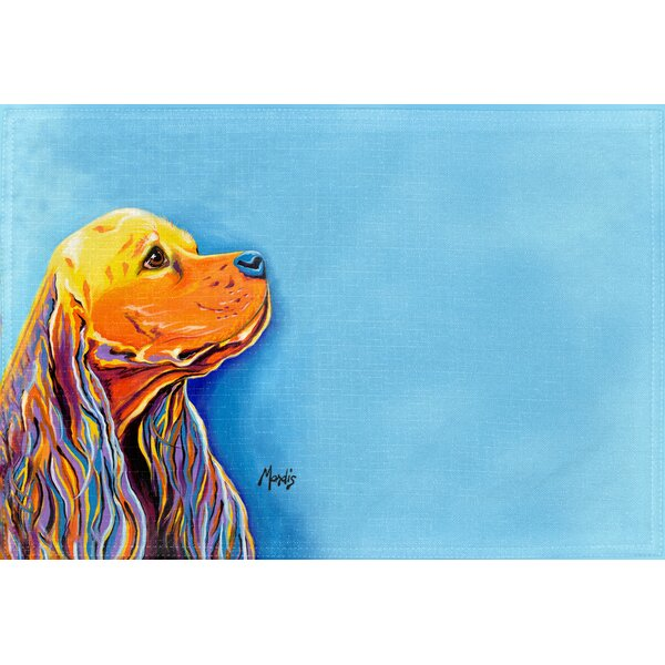 Cocker Spaniel Placemat (Set of 2) by East Urban Home