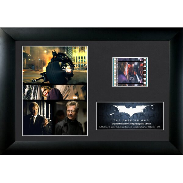Batman The Dark Knight FilmCell Framed Vintage Advertisement by Trend Setters
