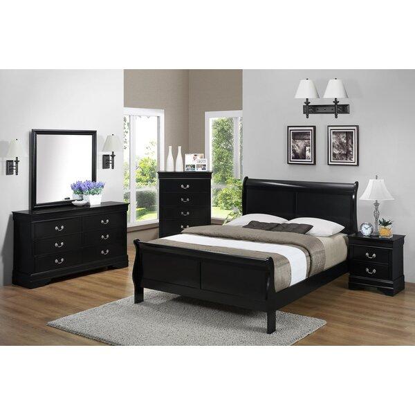 Cali 6 Drawer Standard Dresser/Chest by Charlton Home