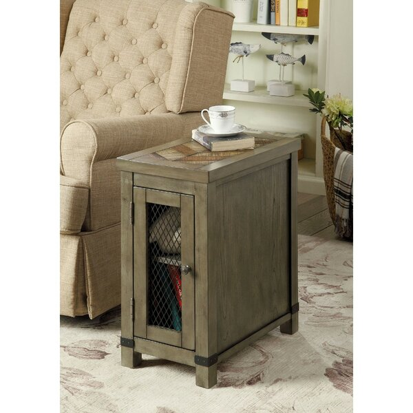 Rourke 1 Door End Table With Storage By Gracie Oaks