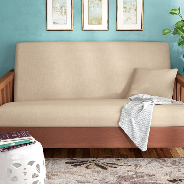 Box Cushion Futon Slipcover by Andover Mills