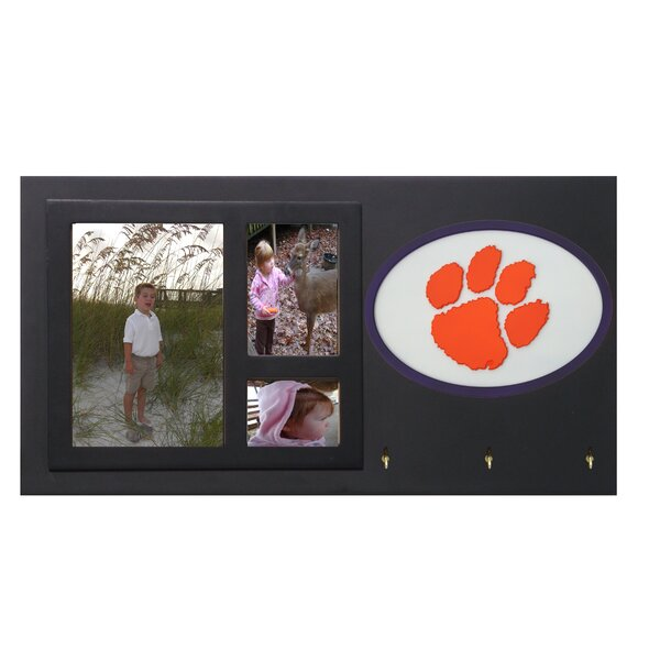 NCAA Key Holder with Picture Frames by Fan Creations