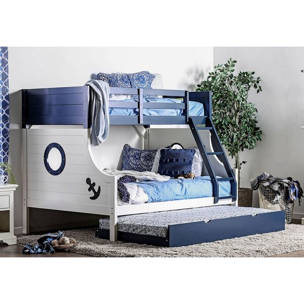 Kalama Twin Over Full Bunk Bed by Harriet Bee