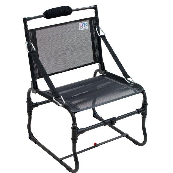 Medium Gear Compact Traveler Reclining Beach Chair by Rio Brands Rio Brands