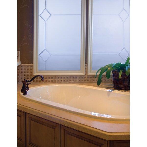 Designer Lorraine 60 x 42 Whirlpool Bathtub by Hydro Systems