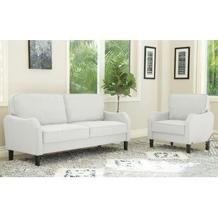 Buco 2 Piece Living Room Set by Charlton Home®
