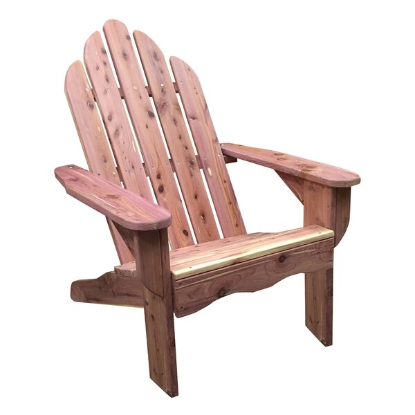 Fasching Wood Folding Adirondack Chair by Millwood Pines