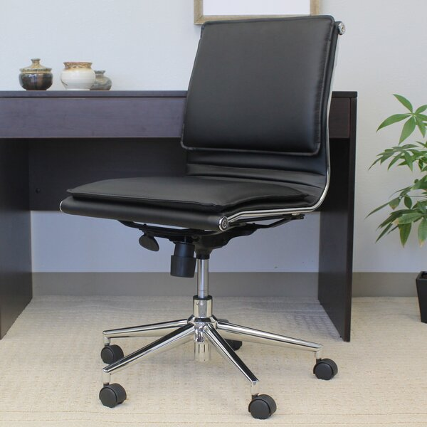 Anson Mid-Back Desk Chair by Wade Logan