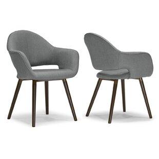 modern contemporary erato retro arm chair allmodern