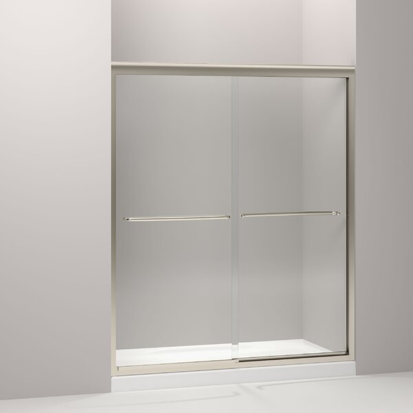 Fluence 59.63 x 70.31 Bypass Shower Door with CleanCoat® Technology by Kohler