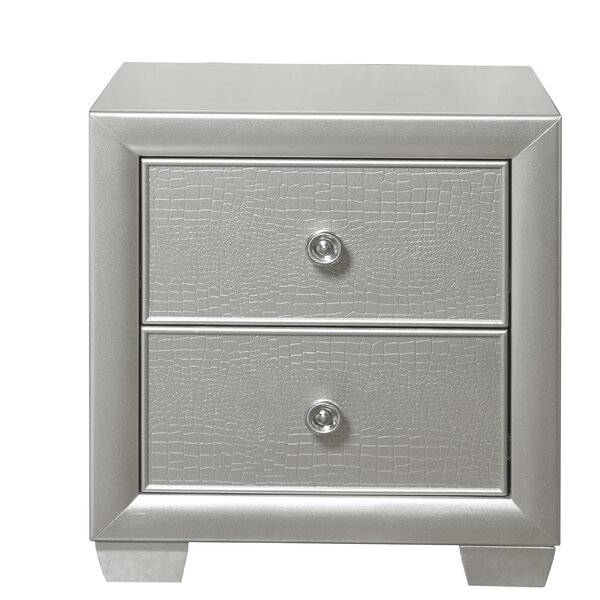 Brinkworth 2 Drawer Nightstand by Willa Arlo Interiors