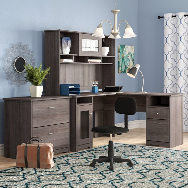 Hillsdale 3 Piece L-Shape Desk Office Suite by Red Barrel Studio