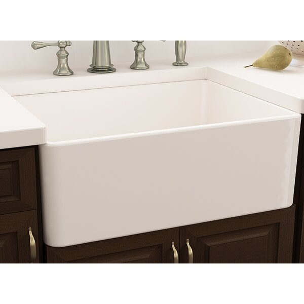 Cape 30 L x 18 W Farmhouse Kitchen Sink with Sink Grid by Nantucket Sinks