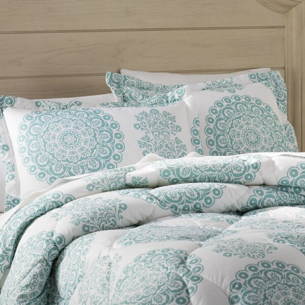 Heron 4 Piece Comforter Set by Beachcrest Home