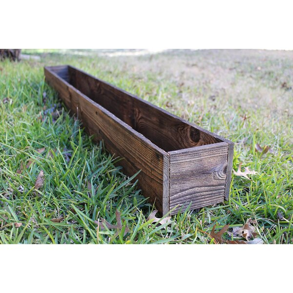 Stevie Wood Planter Box by Loon Peak