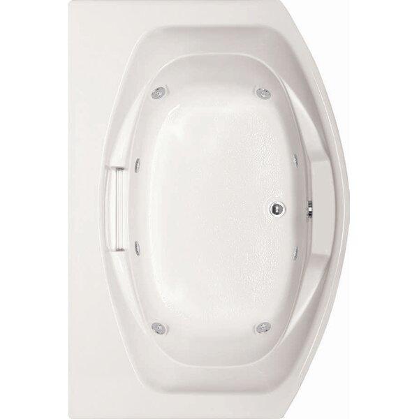 Designer Jessica 60 x 48 Whirlpool Bathtub by Hydro Systems