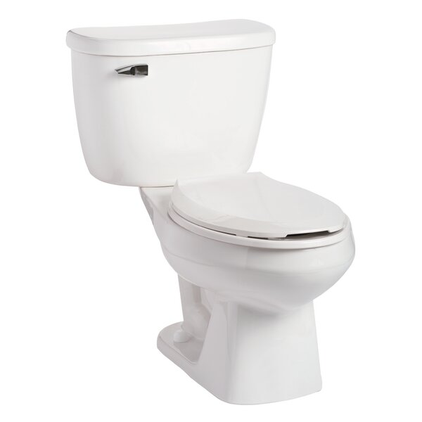 Quantum Pressure-Assist 1.6 GPF Elongated Two-Piece Toilet by Mansfield Plumbing Products