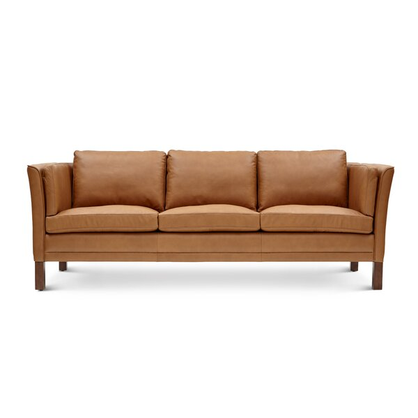 Leona Leather Sofa by Modern Rustic Interiors