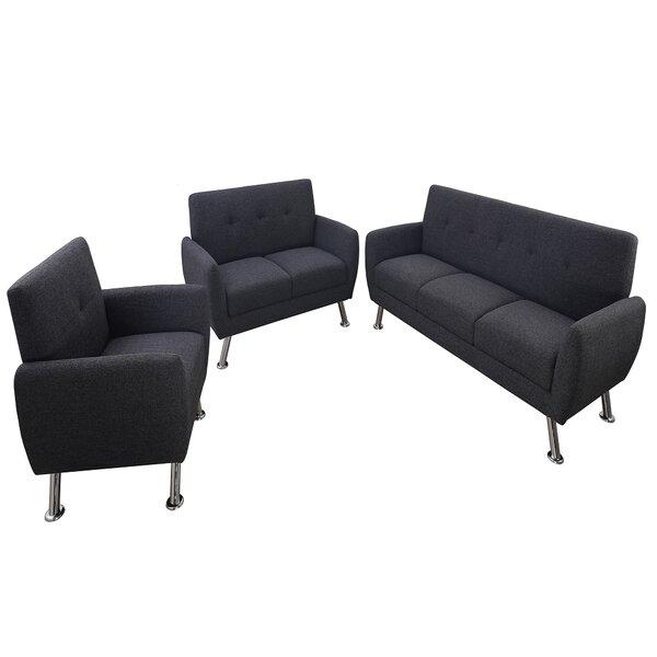 Clarkdale 3 Piece Living Room Set By Brayden Studio
