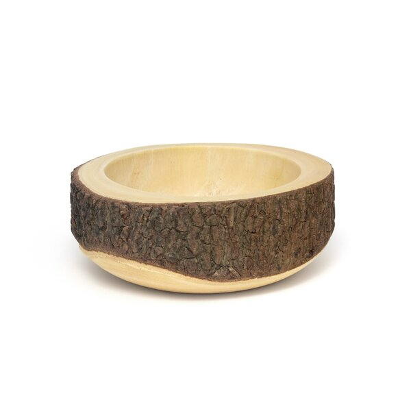 Acacia Tree Bark Serving Bowl by Lipper International