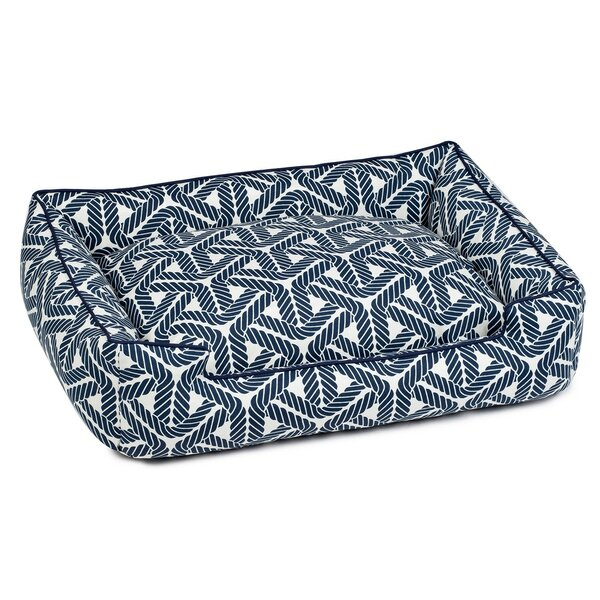 Marina Deep Standard Occasional Outdoor Lounge Bolster Dog Bed by Jax & Bones
