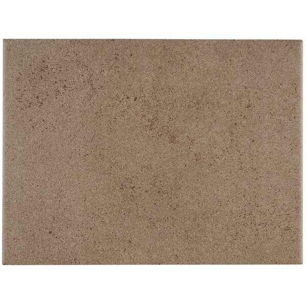 Freeport 9 x 12 Ceramic Field Tile in Brown by Itona Tile