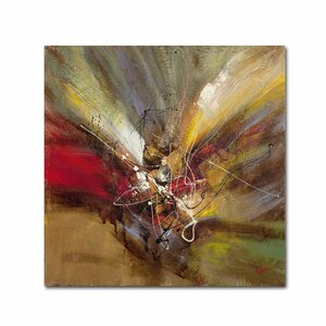 Sunrise by Ricardo Tapia Painting Print on Wrapped Canvas by Trademark Fine Art
