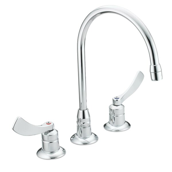 M-Dura Widespread Bathroom Faucet by Moen