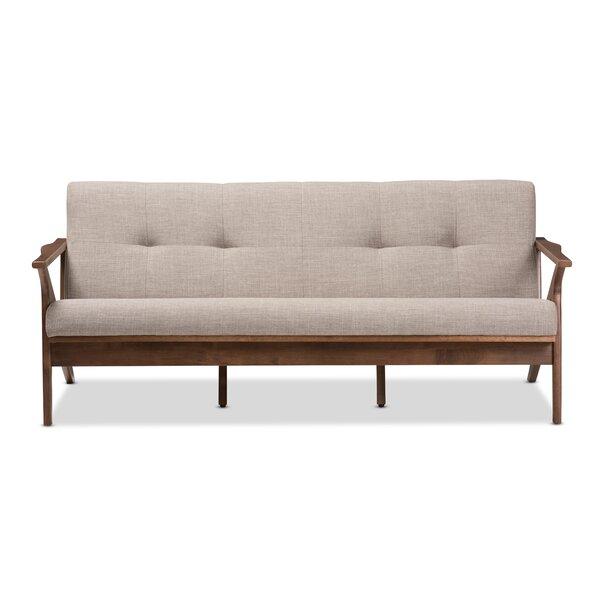 Wojtala Mid-Century Modern Sofa by Union Rustic