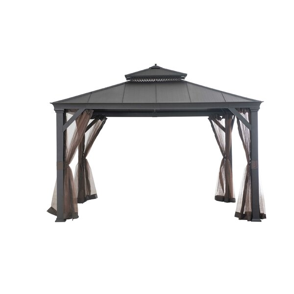 Replacement Mosquito Netting for Bar Harbor Hardtop Gazebo by Sunjoy