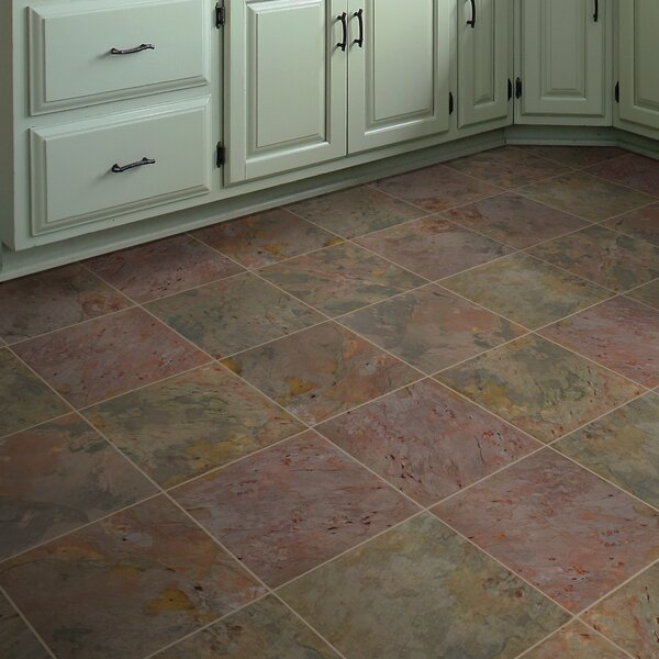Classic 16'' x 16'' Slate Field Tile in Multi by MSI