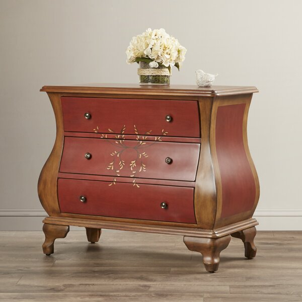 Foushee 3 Drawer Accent Chest by World Menagerie