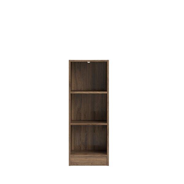 Vernice Short 3 Shelf Standard Bookcase by Zipcode Design