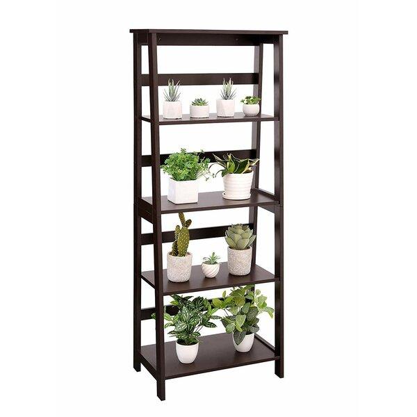 Review Nikolaos Simple Ladder Bookcase