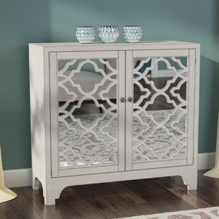 Affordable Gartner Lattice Accent 2 Door Chest By House of Hampton