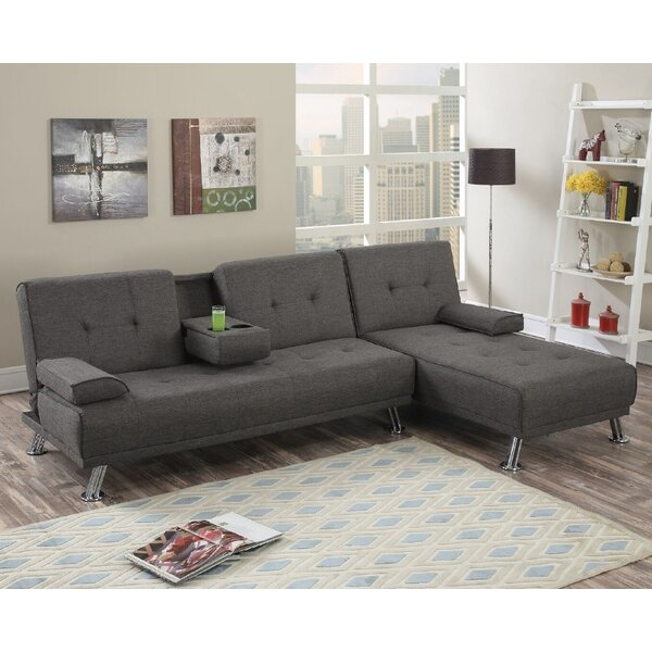 Booneville Reversible Sleeper Sectional by Ebern Designs Ebern Designs