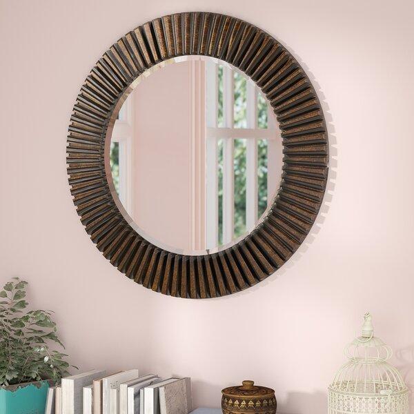 Round Bathroom/Vanity Mirror by World Menagerie