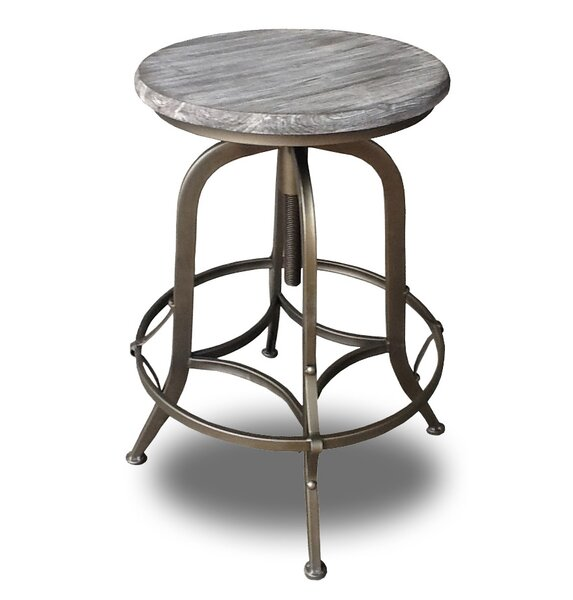 Chester Adjustable Height Swivel Bar Stool (Set of 4) by Vandue Corporation