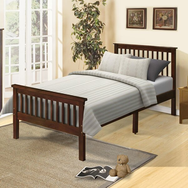 Malibu Wood Twin Platform Bed by August Grove