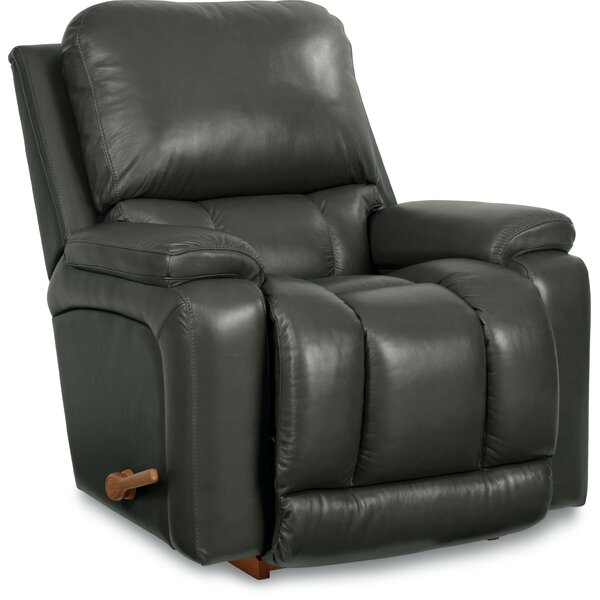 Greyson Leather Rocker Recliner by La-Z-Boy