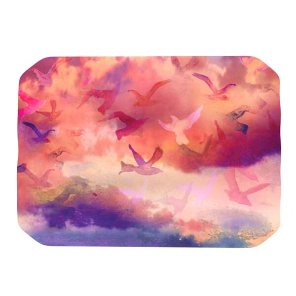 Souffle Sky Placemat by KESS InHouse