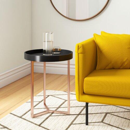 Tabletttisch Noemi Hykkon Farbe (Tischplatte): Schwarz | Wohnzimmer > Tische > Weitere Tische | Hykkon