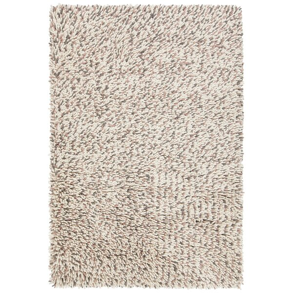 Sharene Hand-Woven Pink/Cream Area Rug by 17 Stories