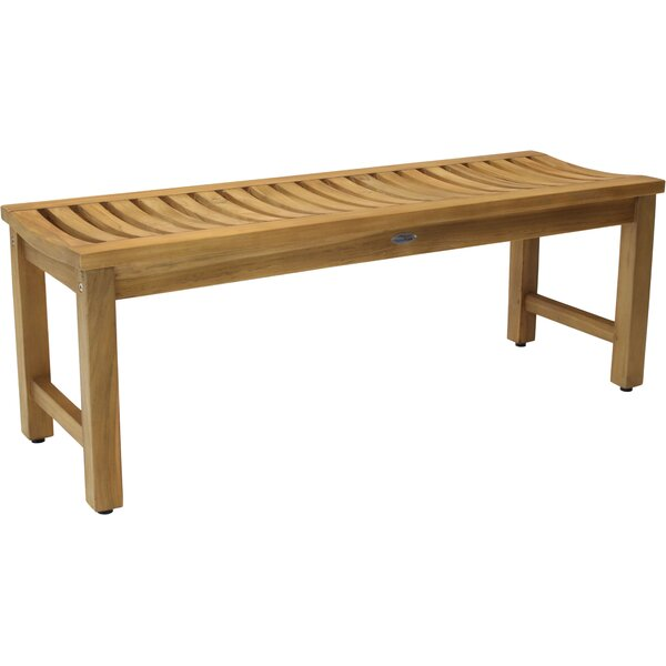 Stratus Teak Picnic Bench by Aqua Teak
