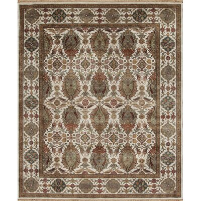 Samad Rugsoriental Hand Knotted Wool Brown Ivory Area Rug Samad Rugs Rug Size Rectangle 8 X 10 Dailymail
